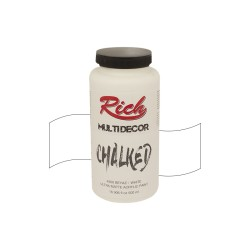 Rich - Rich Multi Decor Chalked – 4500:BEYAZ 500ml